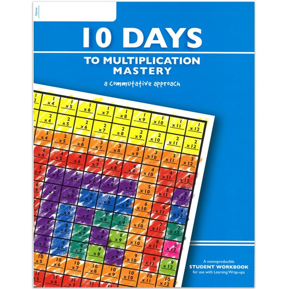 Studying Workbooks: 10 Days To Multiplication Mastery Student Workbook
