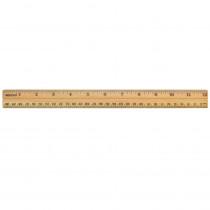 ACM10377 - School Ruler Wood 12 In Single in Rulers