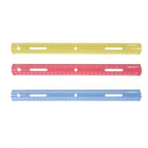 ACM10526 - Plastic Ruler 12In in Rulers