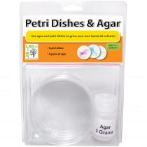 AEP7CH001CRT - Petri Dishes & Agar Set Of 3 in Lab Equipment