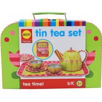 ALE705W - Tin Tea Set in Homemaking