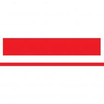 ASH11051 - Mini Magnetic Magi Strips Red in Whiteboard Accessories