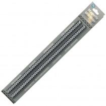 ASH11054 - Mini Magnetic Magi Strips Black Chevron in Whiteboard Accessories