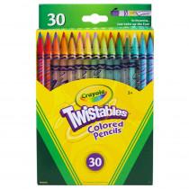 BIN687409 - Crayola Twistables 30 Ct Colored Pencils in Colored Pencils