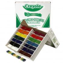 BIN8462 - Crayola Colored Pencils 462 Ct Classpack 14 Colors in Colored Pencils