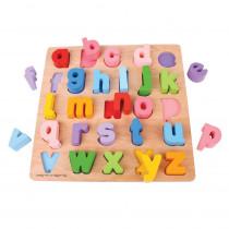BJTBB106 - Chunky Alphabet Puzzle Lowercase in Alphabet Puzzles