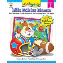CD-104049 - Colorful File Folder Games Gr 1 in Language Arts