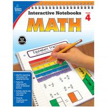 CD-104649 - Interactive Notebooks Math Gr 4 in Math
