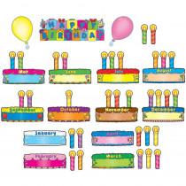 CD-110038 - Birthday Cakes Mini Bulletin Board Set in Miscellaneous