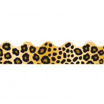 CD-1242 - Border Leopard Print Scalloped in Border/trimmer