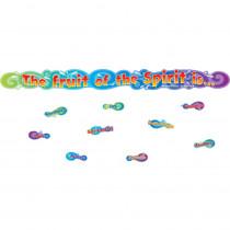 CD-210021 - The Fruit Of The Spirit Mini Bulletin Board Set Gr Pk-3 in Inspirational