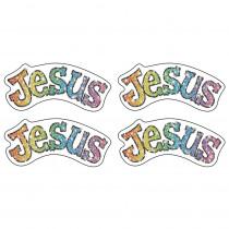 CD-2154 - Dazzle Stickers Jesus in Inspirational