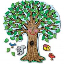 CD-3257 - Bulletin Board Set Big Tree Kid-Drawn 48 X 54 in Science