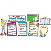 CD-3284 - Bulletin Board Set Traits Of Good 17 Pcs Gr K-8 Writing in Language Arts
