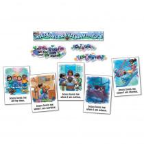 CD-3290 - Bulletin Board Set Jesus Loves Me in Inspirational
