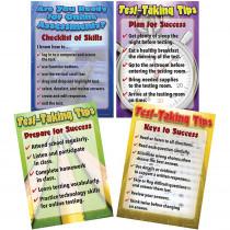 CD-410094 - Language Arts Testing Tips Bulletin Board Set Gr 6-8 in Language Arts