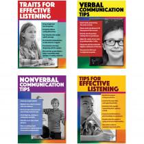 CD-410096 - Speaking  Listen Effect Bulletin Board Set Gr 5-8 in Language Arts