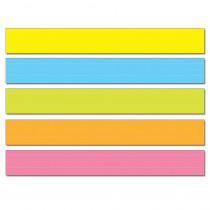 CD-4451 - Sentence Strips Lined 75Pk Multi Colored 3 X 24 in Sentence Strips