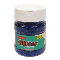 CHL41415 - Creative Arts Glitter 4Oz Jar Blue in Glitter