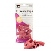 CHL80799 - Pink Eraser Caps 12/Bg in Erasers