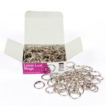 CHLR09 - Rings Loose Leaf 1/2In 100/Bx in Book Rings