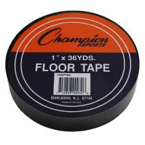 CHS1X36FTBK - Floor Marking Tape Black in Floor Tape