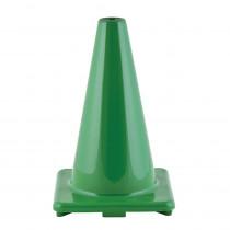 CHSC12GN - Flexible Vinyl Cone Wghtd 12In Grn in Cones