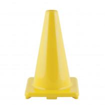 CHSC12YL - Flexible Vinyl Cone Wghtd 12In Yw in Cones