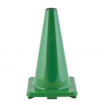 CHSC18GN - Flexible Vinyl Cone Wghtd 18In Grn in Cones