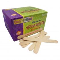 CK-377601 - Jumbo Craft Sticks 500 Pieces Natrl in Craft Sticks