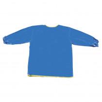 CK-520802 - Long Sleeve Art Smock Blue in Aprons