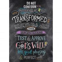 CTP2302 - Romans 12 2 Rejoice Poster Inspire U in General