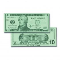 CTU7509 - $10 Bills Set 100 Bills in Money