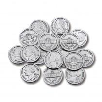 CTU7522 - Plastic Coins 100 Nickels in Money