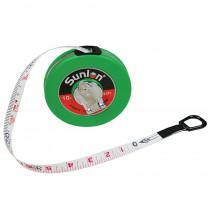 CTU7610 - Wind Up Tape Measure 33Ft in Rulers