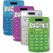 DTXDH60C4 - Handheld Eco Calculator Assorted in Calculators