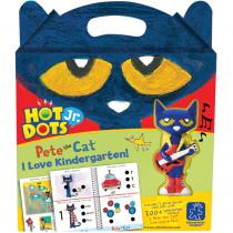 EI-2453 - Hot Dots Jr Pete The Cat I Love Kindergarten Set & Pen in Hot Dots