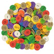 ELP626660 - Place Value Disc 10 Value 3000Set Decimal/Whole Num Sensational Math in Place Value