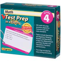 EP-3442 - Math Test Prep In A Flash Gr 4 in Math