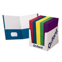 ESS50763 - School Grade Twin Pocket Folders 100 Per Box in Folders
