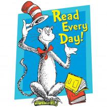 EU-836024 - Cat In The Hat Read Every Day Window Cling in Window Clings