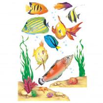 EU-83623 - Window Cling Fish 12 X 17 in Window Clings