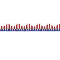 EU-845031 - American Flags-Electoral Scalloped Deco Trim in Border/trimmer