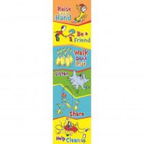 EU-849573 - Seuss-Cat In The Hat Class Rules Banner Vertical in Banners