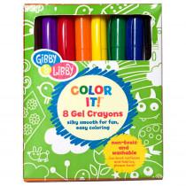 EU-BKGC16733 - Primary Colors Gel Crayons in Crayons