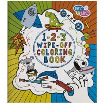 EU-BWCB14583 - Boy 2 Wipe Off Coloring Book in Art Activity Books