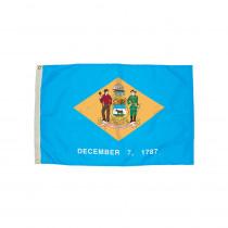 FZ-2072051 - 3X5 Nylon Delaware Flag Heading & Grommets in Flags
