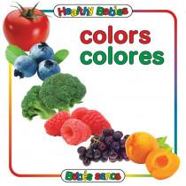 GAR9780983722243 - Colors Board Book Bilingual Spanish English in Books