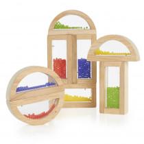 GD-3012 - Rainbow Blocks Crystal Bead in Blocks & Construction Play