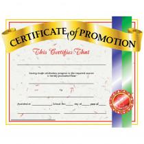 H-VA509 - Certificates Of Promotion 30/Pk 8.5 X 11 in Certificates